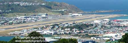 Wellington Airport Crop
